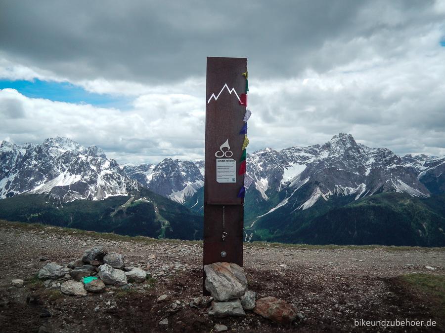Stoneman Dolomiti Sillianerhütte Checkpoint