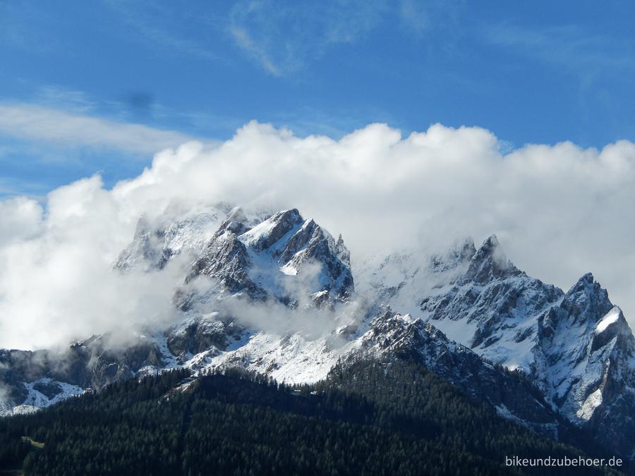 Sextner Dolomiten - clouds