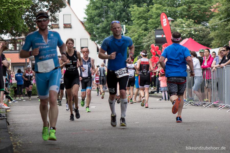 Ironman 70.3 Kraichgau 2016 Laufstrecke