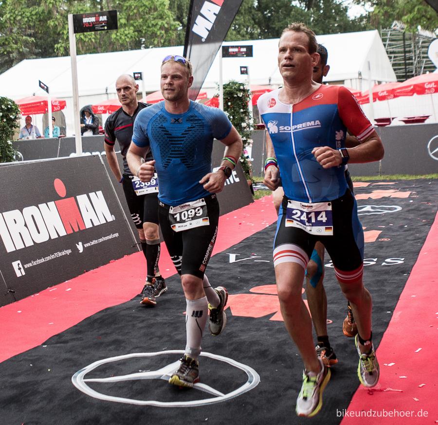 Ironman 70.3 Kraichgau 2016 Zieleinlauf