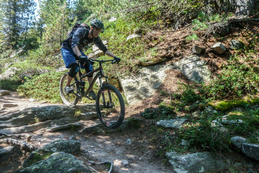 Procore auf dem Trail