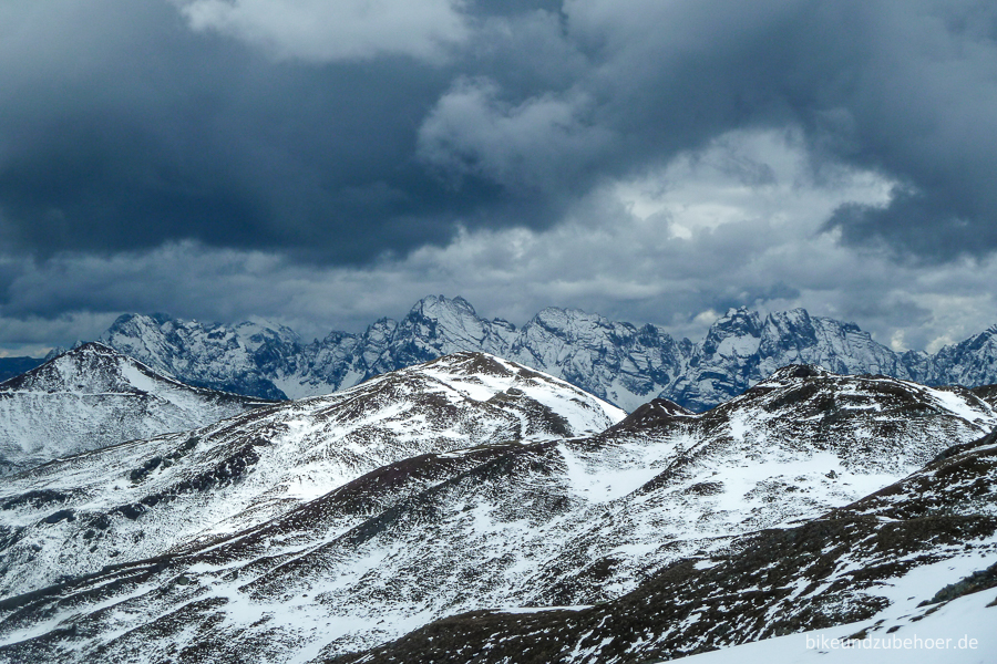 Stoneman Dolomiti Passo Silvella view